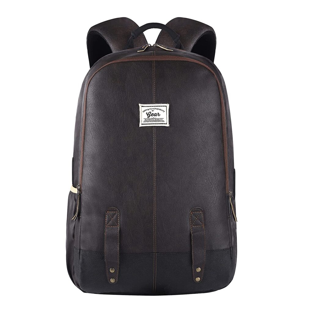 Gear Anti Theft Faux Leather Bag