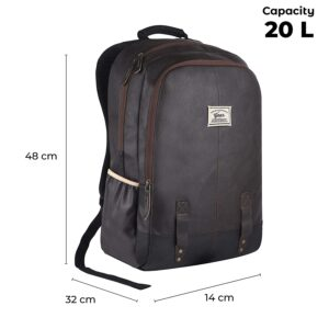 Gear Anti Theft Faux Leather Bag dimesions