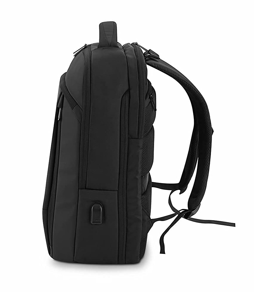 side view Atistix Expandable Backpack